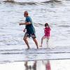 Playing in the Surf at Yaupon Beach (29 May 2016)