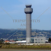 Airport Air Traffic Control Tower in Oakland, California.