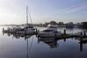 Boats at the Oakland marina