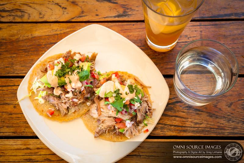 Duck Carnitas Tacos at Bocanova - Jack London Square, Oakland, CA