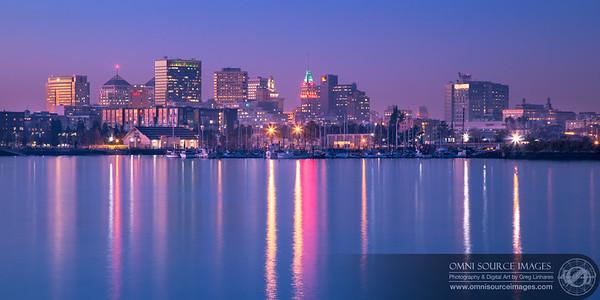 Oakland Waterfront Twilight