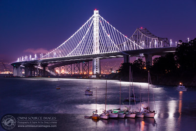 New Oakland-SF Bay Bridge - Eastern Span.