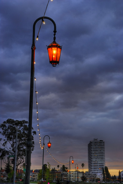 String of Light, Lake Merritt, Oakland, CA