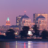 Oakland Twilight Skyline Close-Up crop from Super-HD Panorama (5249 x 2624 pixels)