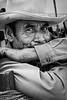 Respite, laborer. Ocotlan market. Oaxaca, Mexico