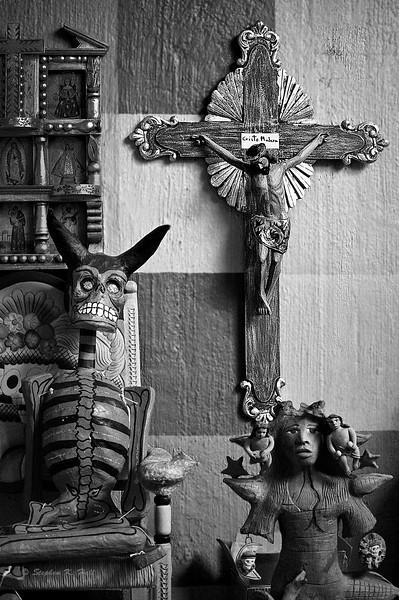 Cultural proximity. Oaxaca, Mexico