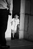 Boy in doorway.  Oaxaca de Juarez, Mexico