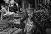 Market woman with greens, Ocotlan. Oaxaca, Mexico