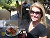 Shari at our champagne brunch ~ Laguna Cliffs Marriott ~ Dana Point, CA