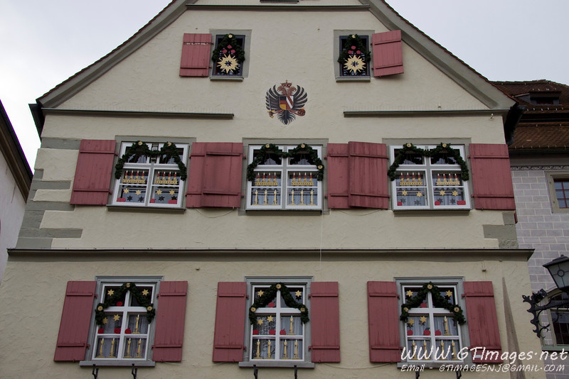 Wangen, Germany...Christmas decorations continue to pop up. So nice and elegant.