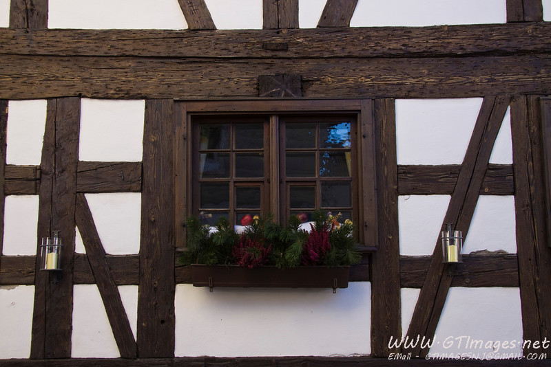 Oberstaufen, Germany - It was the beginning of the holiday season, and they were putting out the decorations. Their decorations were beautiful - very understated, but elegant.