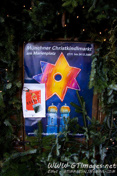 München, Germany - we spent the last two days of our trip in München. The Christmas markets (Christkindlmarkt) just opened.