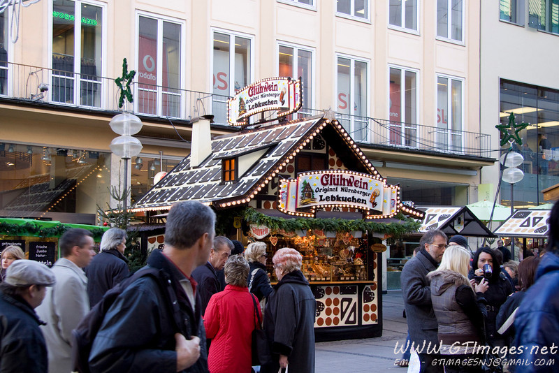 München, Germany - Christkindlmarkt.