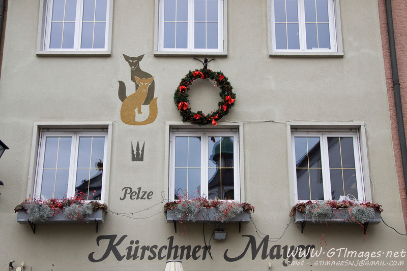 Wangen, Germany...Christmas decorations.