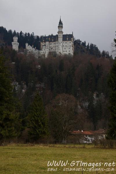 Füssen, Germany - Schloss Neuschwanstein.