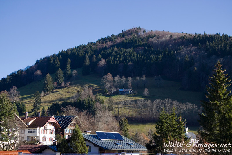 Oberstaufen - view from our hotel room.