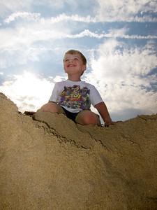 Ethan, Conqueror Of Sand Castles.