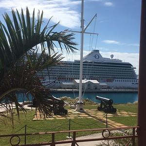 Oceania Riviera -Trans-Atlantic- March 2018
