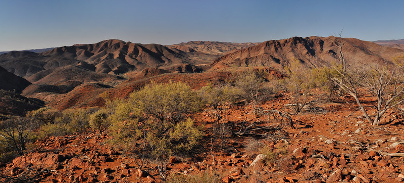 The Dryness of Arkaroola