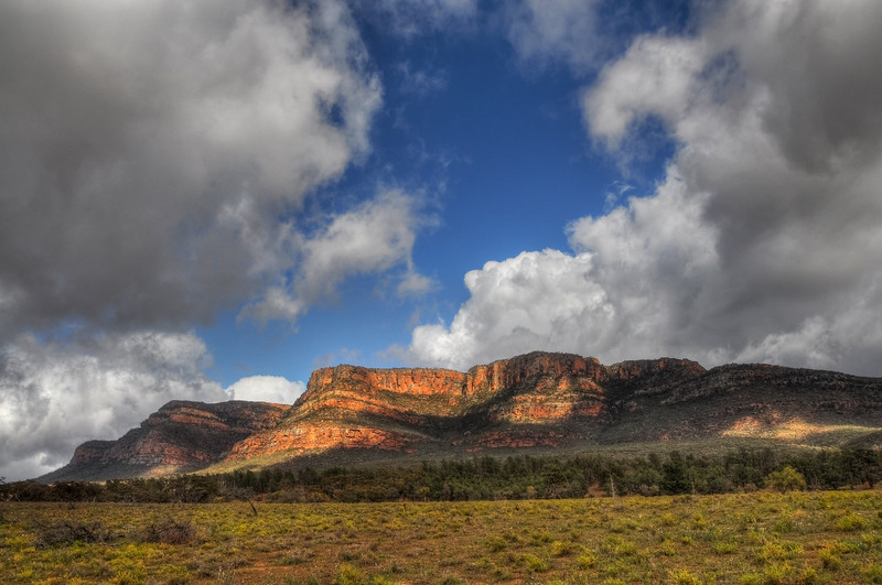 The Cliffs of Wilpena Pound