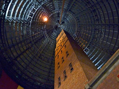 Under that cone of Melbourne Central is this historic building where ball bearings were made