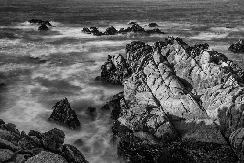 Surf and rocks, Point Lobos State Park