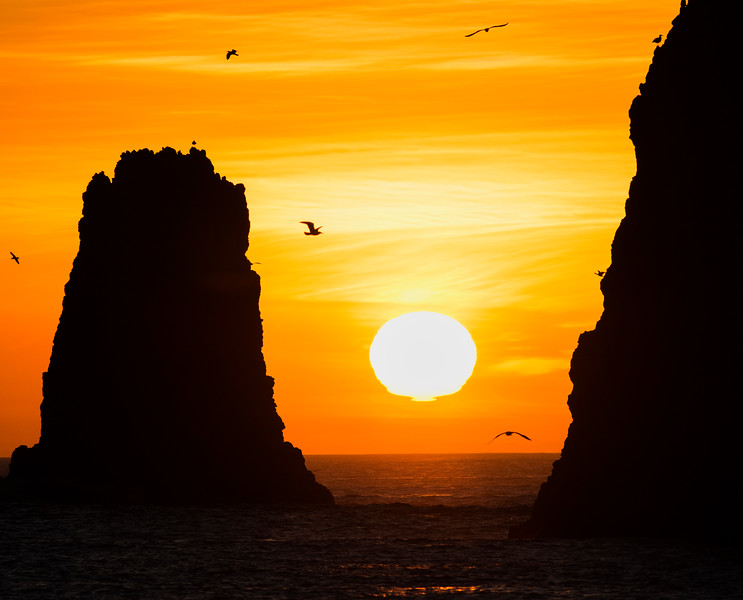 Sunrise at Anacapa