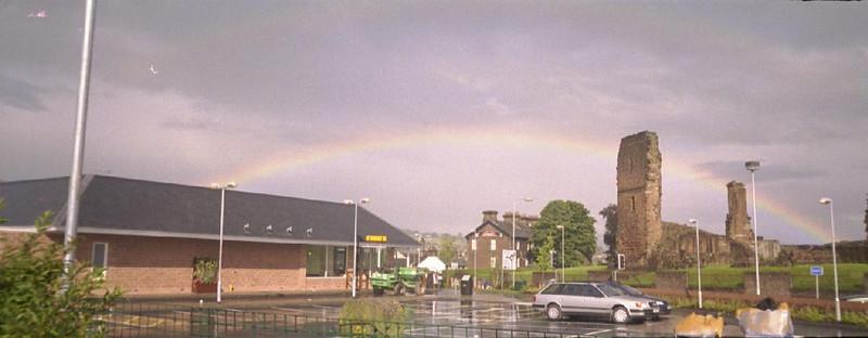 Nice rainbow, innit!