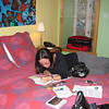 This was our room - very bright and cute