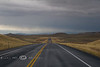 Cold Black Skies as we Leave Yellowstone - Photo by Cindy Bonish