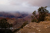 South View of the Grand Canyon, socked in with winter clouds - Photo by Cindy Bonish