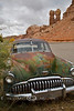 Buick Super Eight found on a Navajo Reservation in Arizona - Photo by Pat Bonish