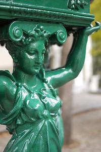 Fountain detail
