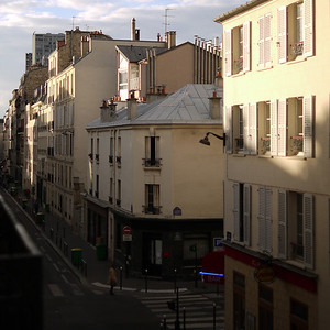 Rue Fondary in Evening Light