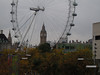 Big Ben through the London Eye