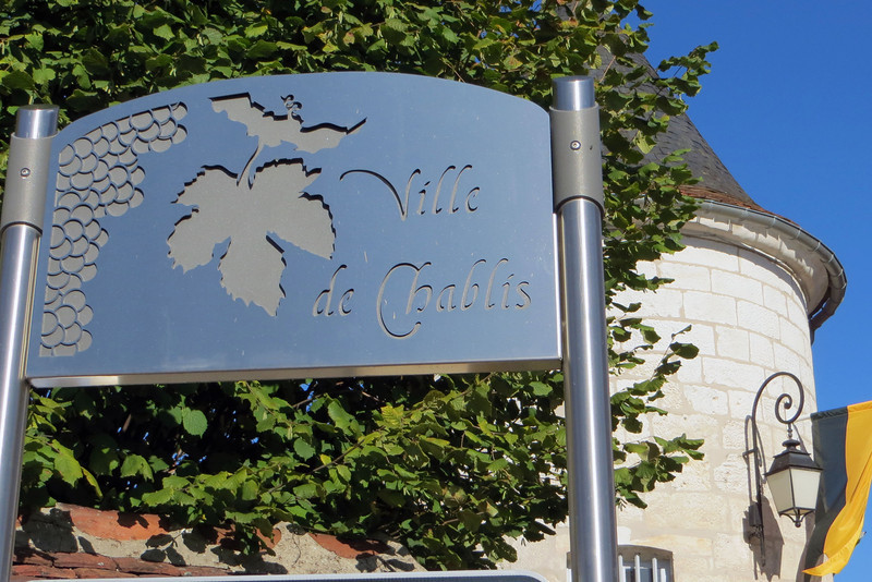 A nice spot near the center of Chablis that caught my eye.