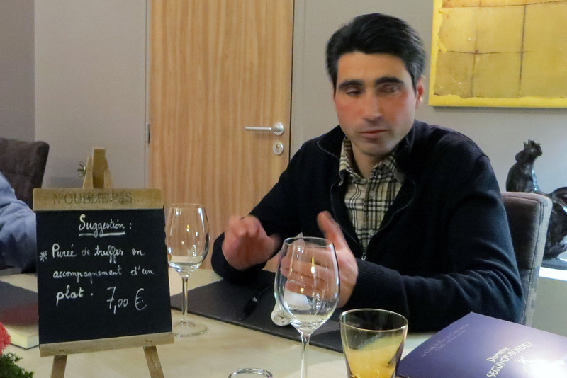 "The quick weekend press strip kicked off at dinner with our host Jean Francois Bordet of Domaine Seguinot-Bordet. He is president of the Chablis Commission of Burgundy winegrowers.  <a href=""http://www.wabash.edu"">http://www.wabash.edu</a>"