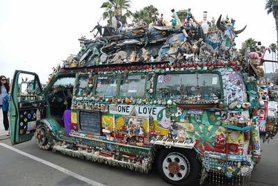 Art Car, Santa Barbara, 2010