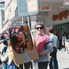 Clueless Canal Street Bling Catcher, Mardi Gras, 1986