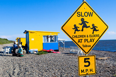Arguably one of the most charming signs ever. Fish Camp. Kotzebue, AK.