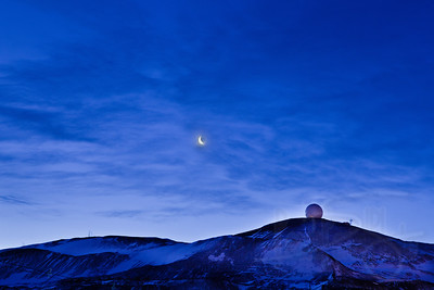 8.3.11 moon, clouds, and nasa dome.