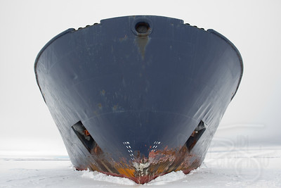 Icebreaker. Snow Hill Island, Antarctica