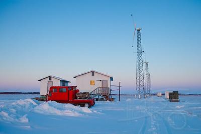 Wind Generators. Kotzebue, AK