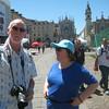 Steve and Helena in Piazza San Carlo