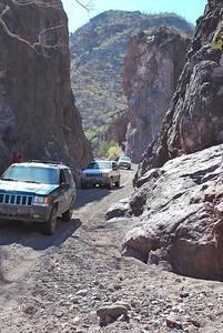 beautiful narrow canyon