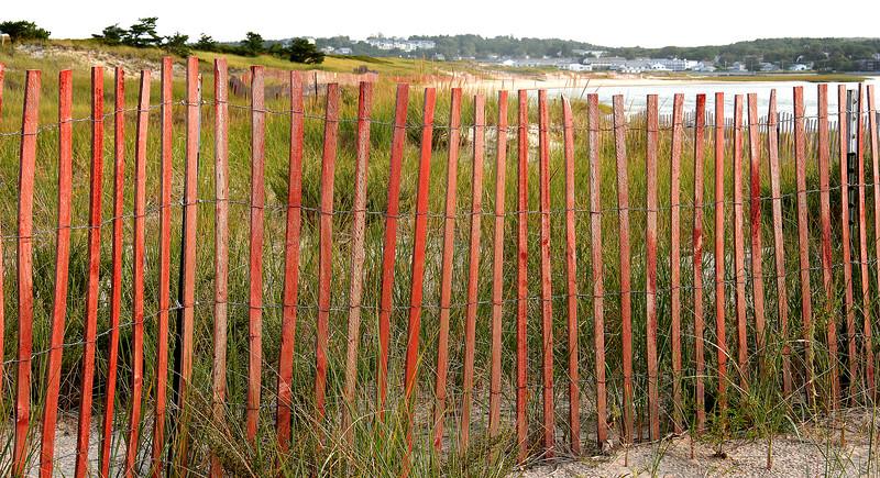 ogunquit, dune fence