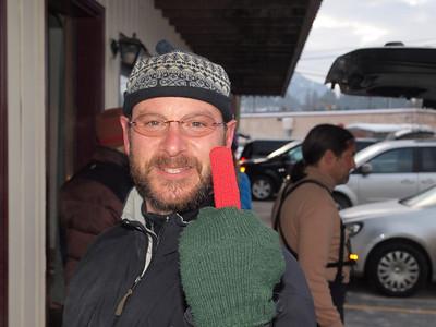 NY style glove...