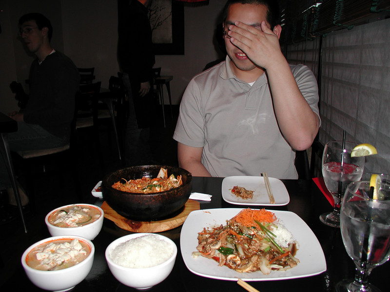 """""""Watch out, I'm going to flash you."""" Sung Korean Bistro. Meeting Hai in Cincinnati, 4/16"""