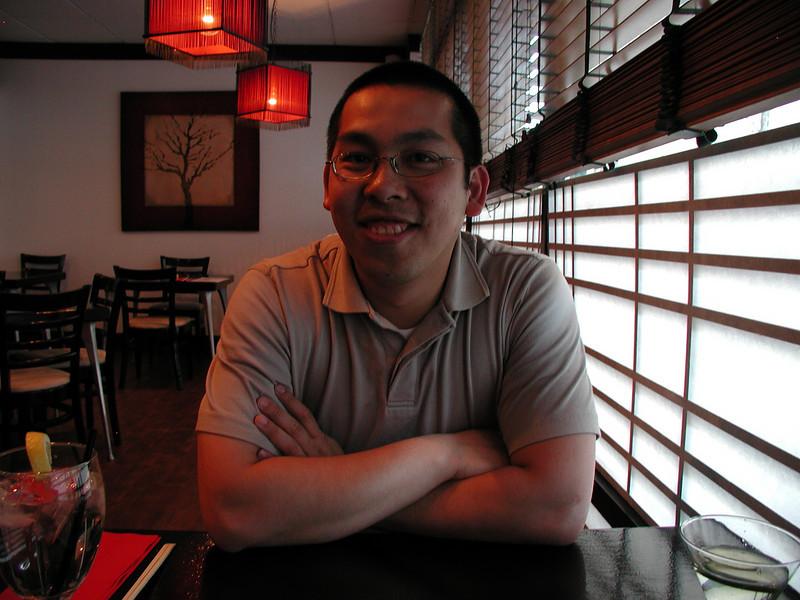 Sung Korean Bistro. Meeting Hai in Cincinnati, 4/16