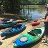 Kayak instruction from Hallie of Marietta Adventure Company